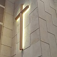 [성구] LED조명십자가(300cm 천연무늬목)(설치비별도)